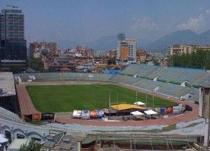 Tirana - Stadiumi Qemal Stafa