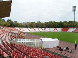 Szófia - algarska Armiya Stadion - CSKA
