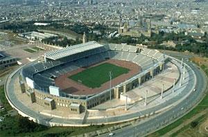Barcelona - Estadi Olimpic de Montjuic