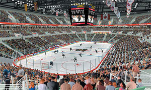 Kanada - Winnipeg - MTS Centre