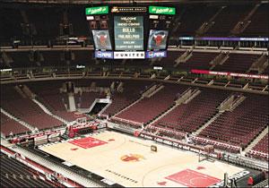 Chicago - United Center -  Chicago Bulls