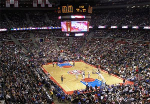 Auburn Hills - The Palace of Auburn Hills -  Detroit Pistons