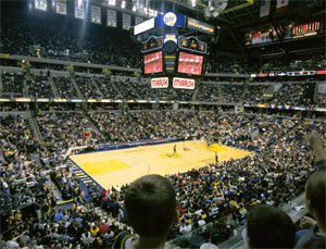 Indianapolis - Conseco Fieldhouse -  Indiana Pacers
