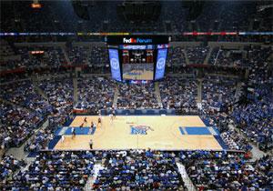 Memphis - FedExForum - Memphis Grizzlies