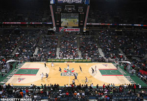 Milwaukee - Bradley Center -  Milwaukee Bucks