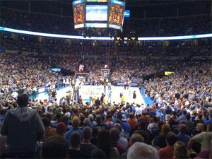 Oklahoma City - Chesapeake Energy Arena - Oklahoma City Thunder