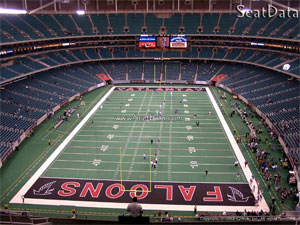 Atlanta - Georgia Dome - Atlanta Falcons