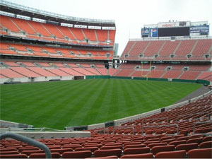 Cleveland - Cleveland Browns Stadion - Cleveland Browns