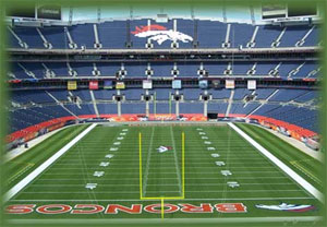 Denver - Invesco Field at Mile High - Denver Broncos