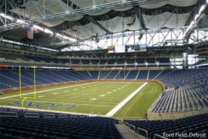 Detroit - Ford Field - Detroit Lions