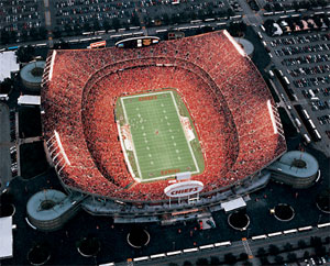 Kansas City - Arrowhead Stadion - Kansas City Chiefs