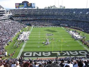 Oakland - Alameda County Coliseum - Oakland Raiders