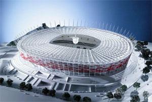 Varsó - Nemzeti Stadion