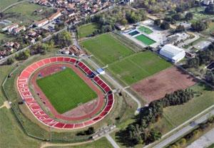 Kragujevac - Stadion Cika Daca