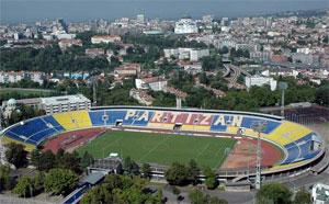 Belgrád - Stadion Partizana