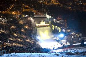 Ausztria - Innsbruck - Bergisel Stadion
