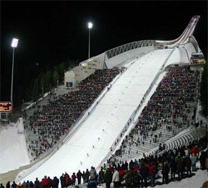 Norvégia - Oslo - Holmenkollen Stadion