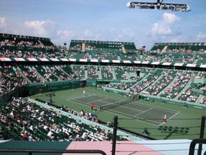 USA - Key Biscayne - Tennis Center at Crandon Park