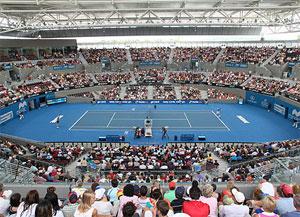 Ausztrália - Brisbane - Queensland Tennis Centre
