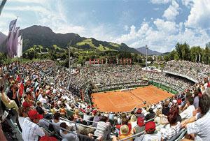Ausztria - Tennis Stadium Kitzbühel